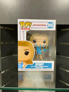 SIGNED Mira Sorvino (Romy and Michelle) Funko Pop #908 W/COA