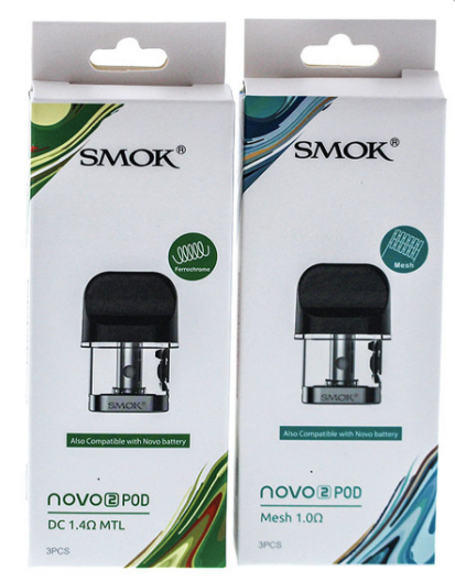Smok Novo 2 Replacement Pods 3PCS / Pack