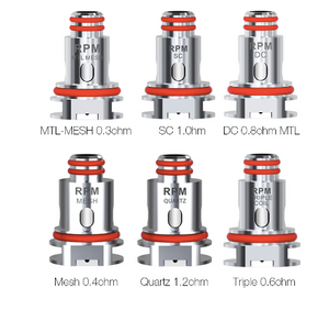 SMOK RPM Replacement Coils (5 Pack )