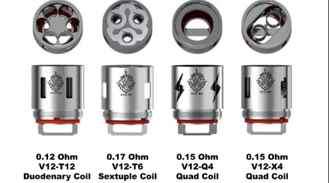 SMOKTech TFV12 Cloud Beast King Replacement Coils