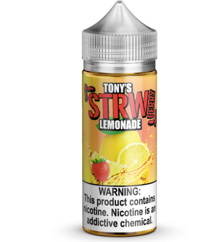 Tony's Strawberry Lemonade 100ml