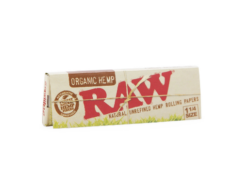 Raw Organic Rolling Paper 1 1/4 Size