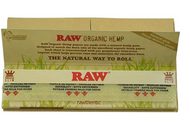 RAW Organic Connoisseur King Size Slim with Tips Rolling Papers