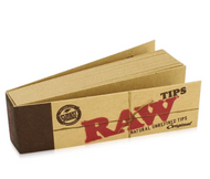 Raw Natural Rolling Paper Tips