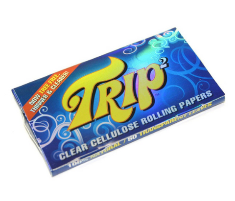 Trip Clear Rolling Papers 1-1/4""
