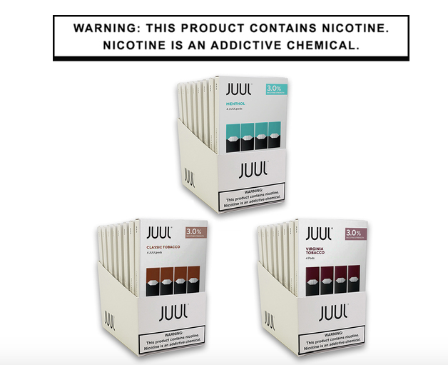 JUUL Pods 3% (4pack)