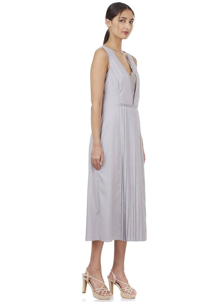 THEA PLEATED DRESS - Genes online store 2020