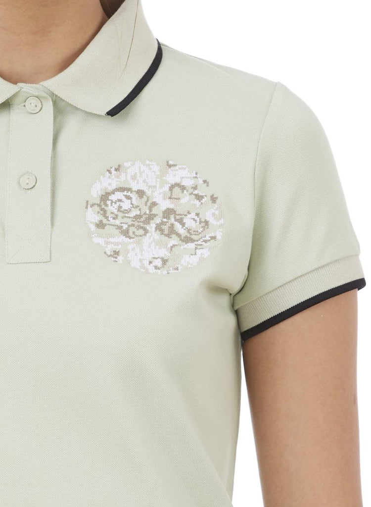 TESSA FLORAL EMBROIDERED POLO SHIRT - Genes online store 2020
