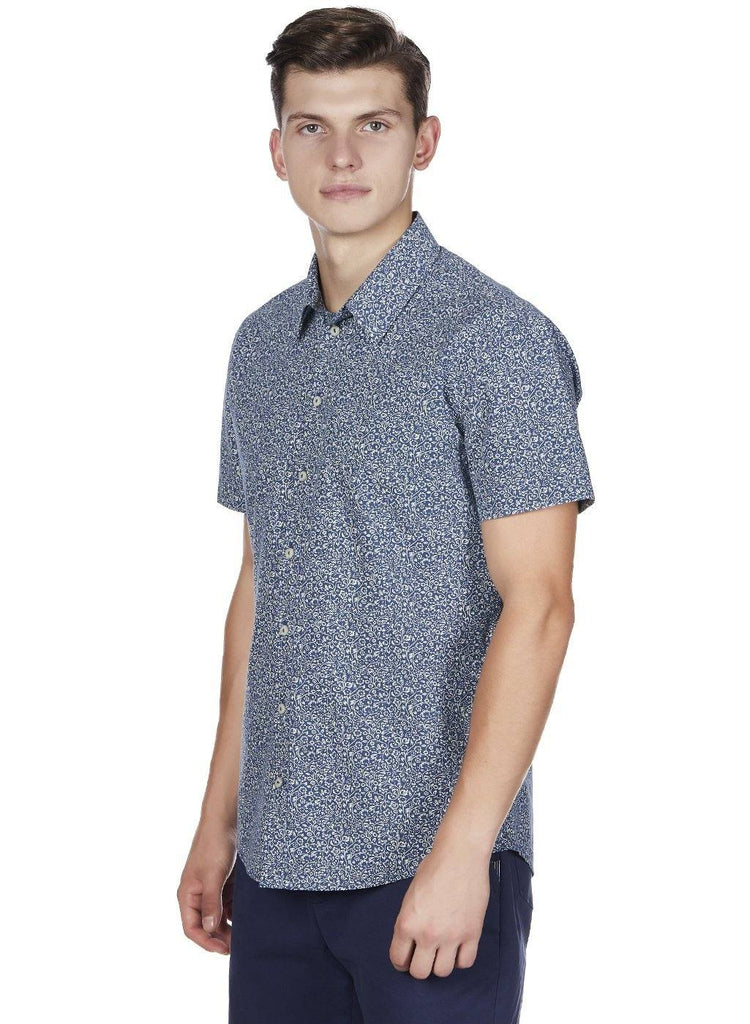 SUMMER SUNSET BUTTON DOWN - Genes online store 2020