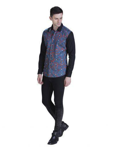 HORSE PRINT SHIRT FOR MEN - Genes online store 2020
