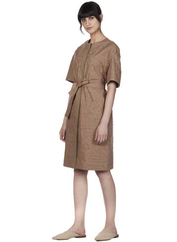SUMMER TRIBE KNOTTED DRESS - Genes online store 2020