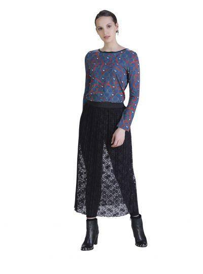 LACED MAXI SKIRT - Genes online store 2020