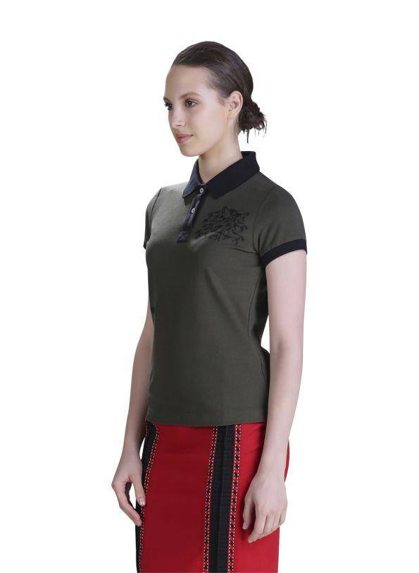 HORSE EMBROIDED POLO - Genes online store 2020