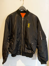 Load image into Gallery viewer, VINTAGE YSL LOGO X BOMBER JACKET