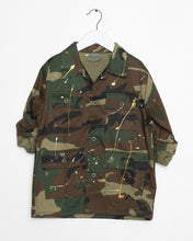 Load image into Gallery viewer, ARMY Jacket W/ Paint
