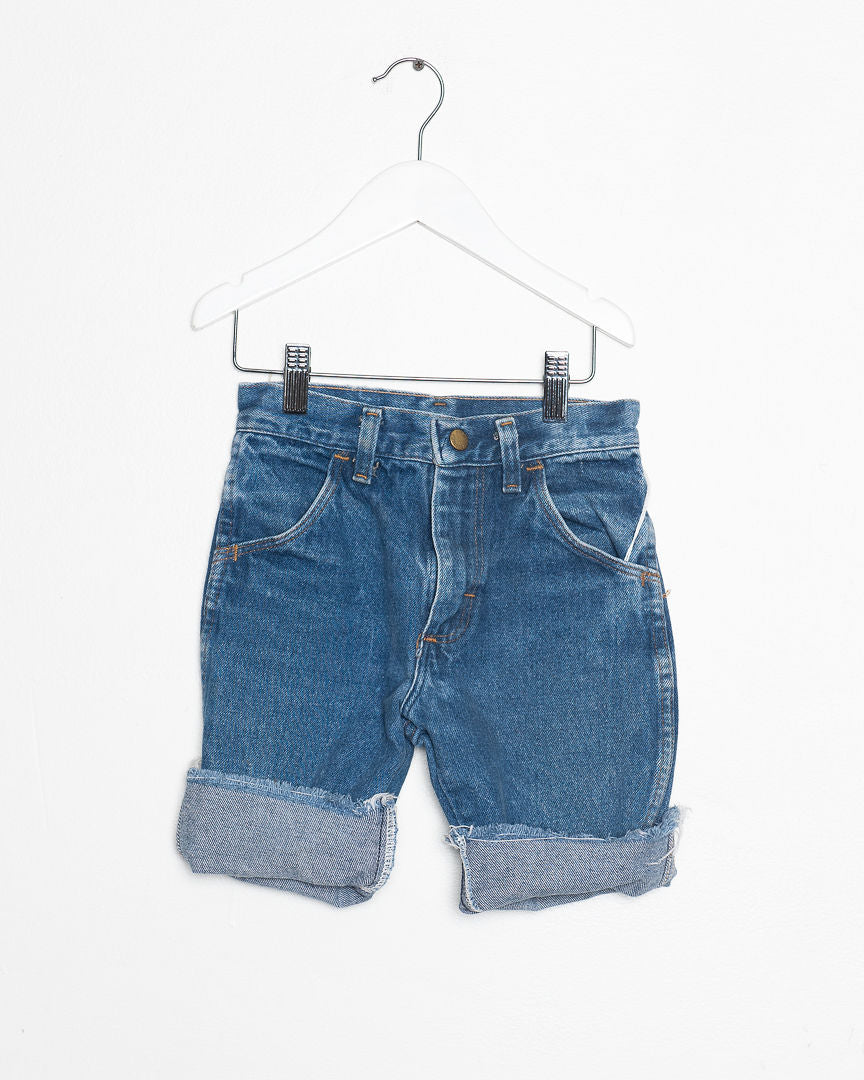 Kids Vintage Denim Shorts
