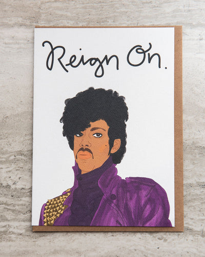 Reign On Greeting Card