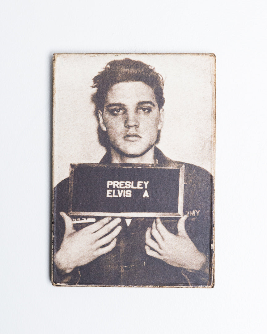 ELVIS Mugshot Wall Art