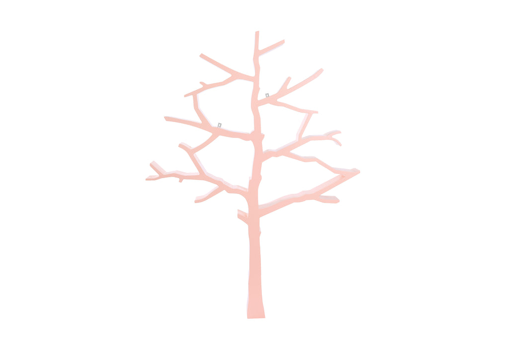 NW8126P,Tree Bookcase In Blush Pink Finish