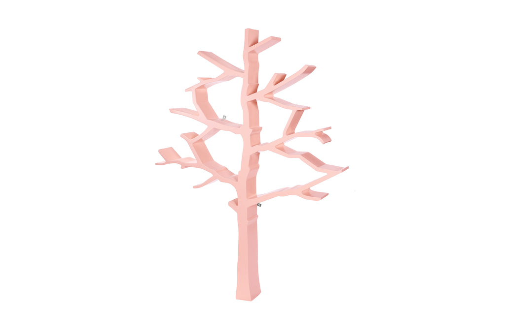 nursery works tree bookcase Pink