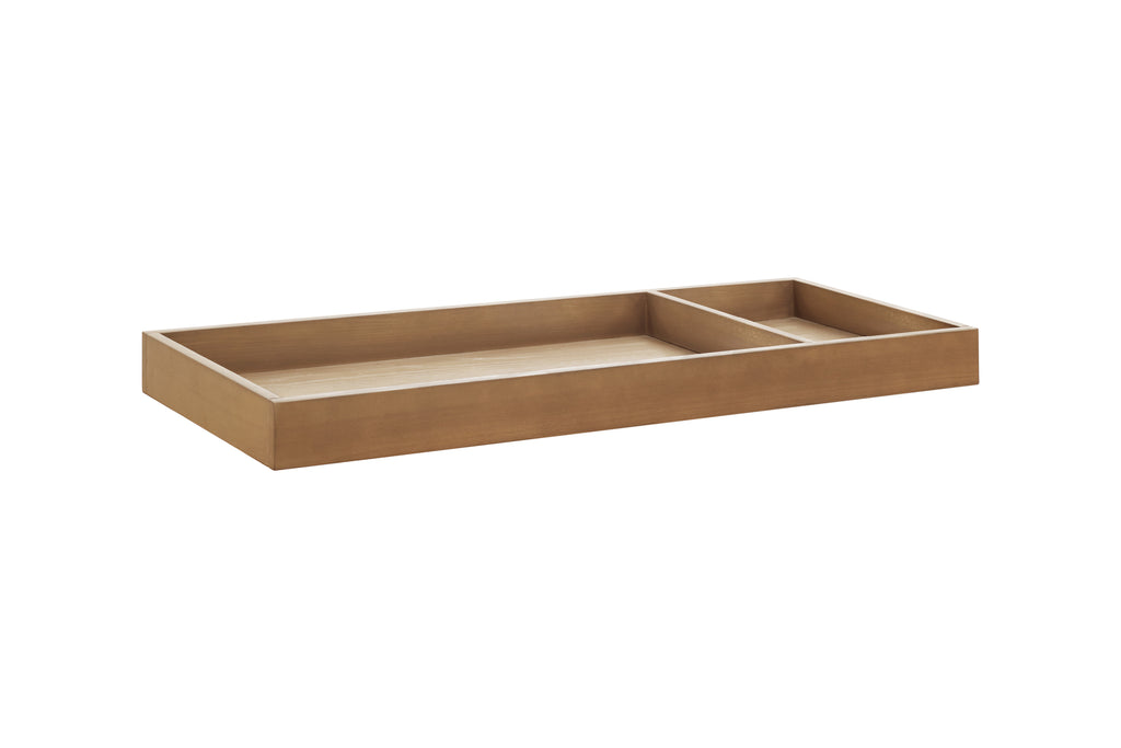 Nursery works universal wide removable changing tray Stained Ash / Ivory