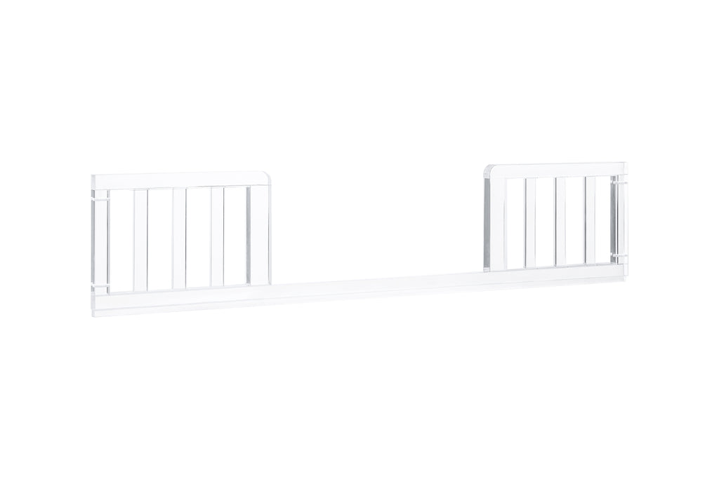 nursery works luma crib toddler bed conversion kit Clear Acrylic