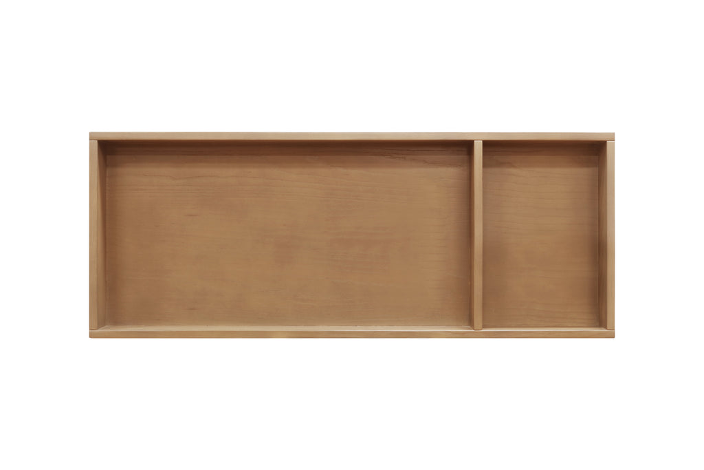 M0619AY,Universal Wide Removable Changing Tray in Stained Ash