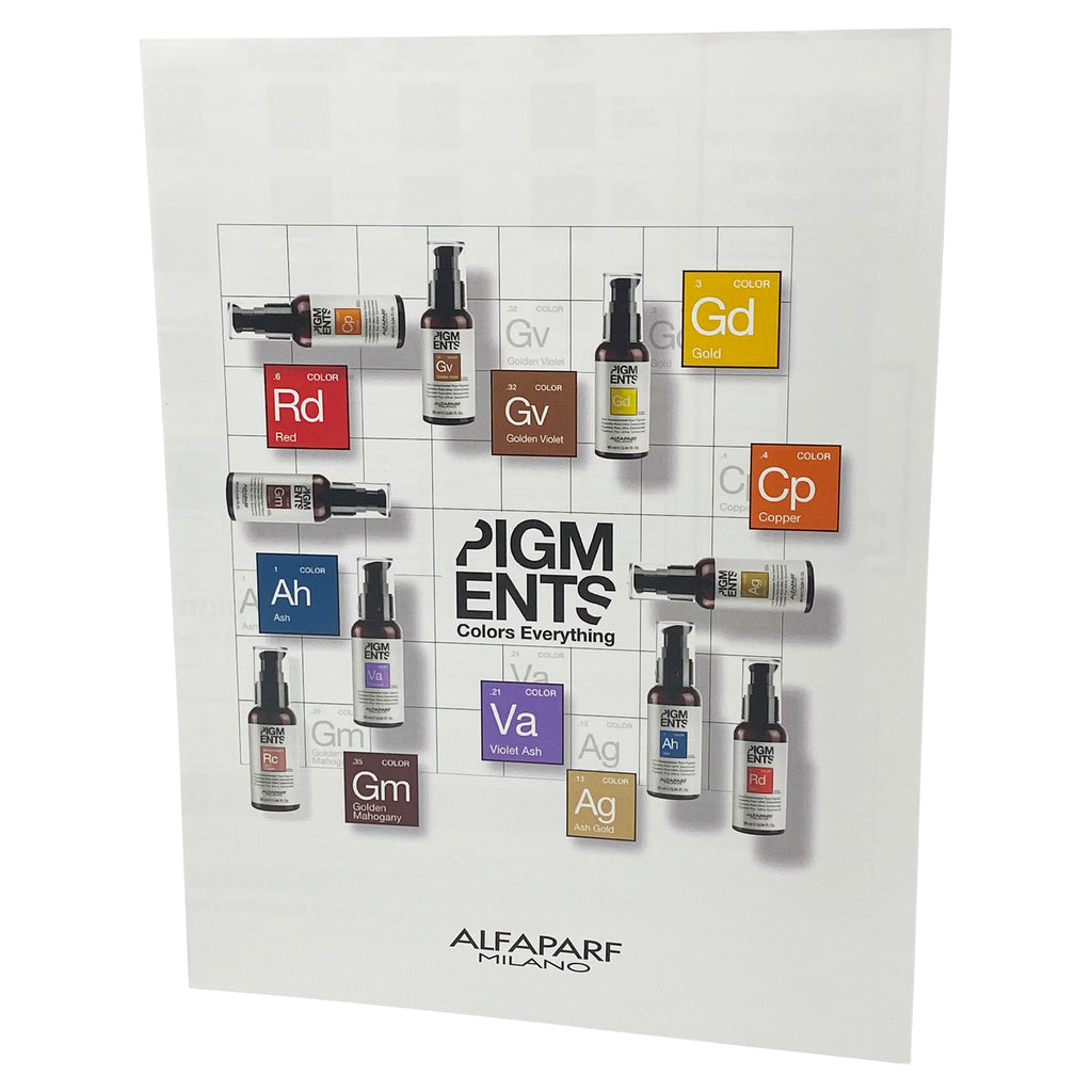 Pigments Technical Wall Chart