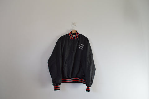 1/4 zip Black Jacket