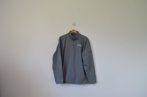 Nike Grey 1/4 Zip Jacket