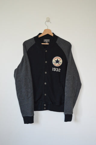 CONVERSE All Star Snap Button Sweater