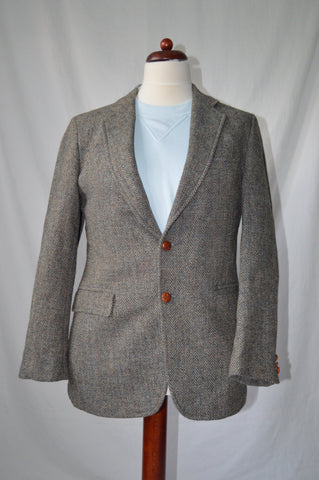 Chevron Tweed Jacket