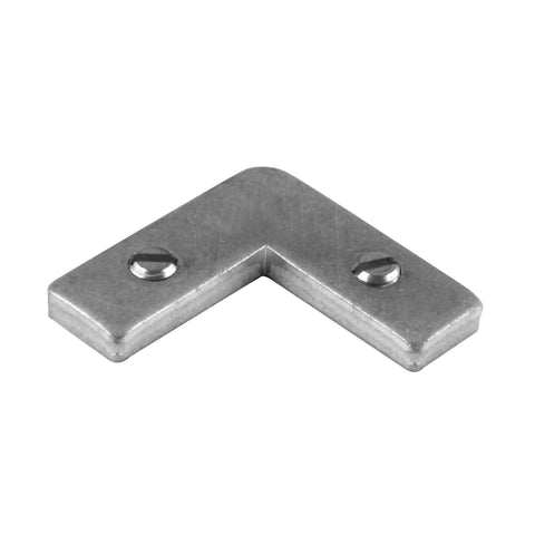 Heavy Duty Tapped Corner Angle - 401CAS - pack of 100