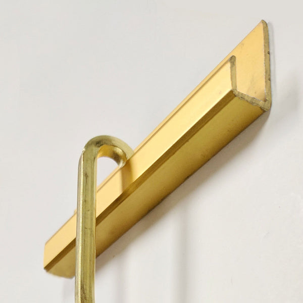 """J"" Channel Gallery Rods - includes hanger - FW1210"