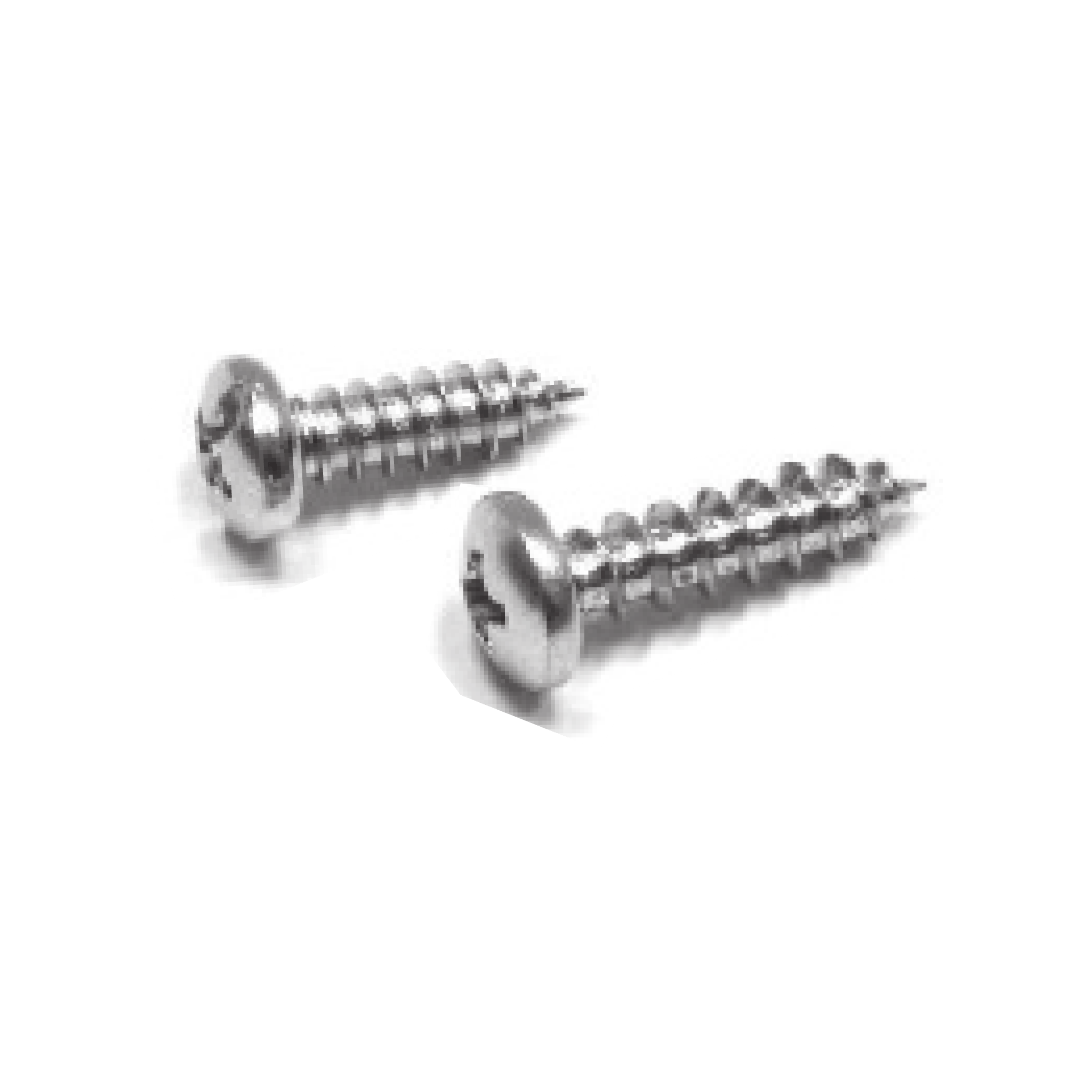 "#8 x 3/4"" Pan Head Sheet Metal Screw - pack of 100"