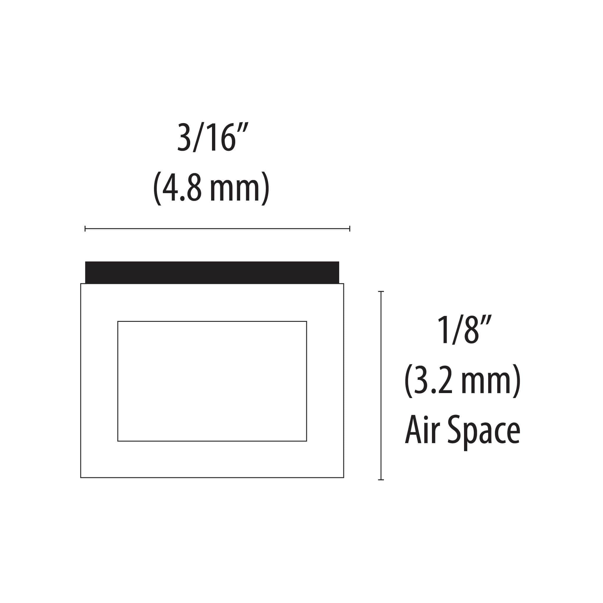 "EconoSpace 1/8"" (3.2mm) 