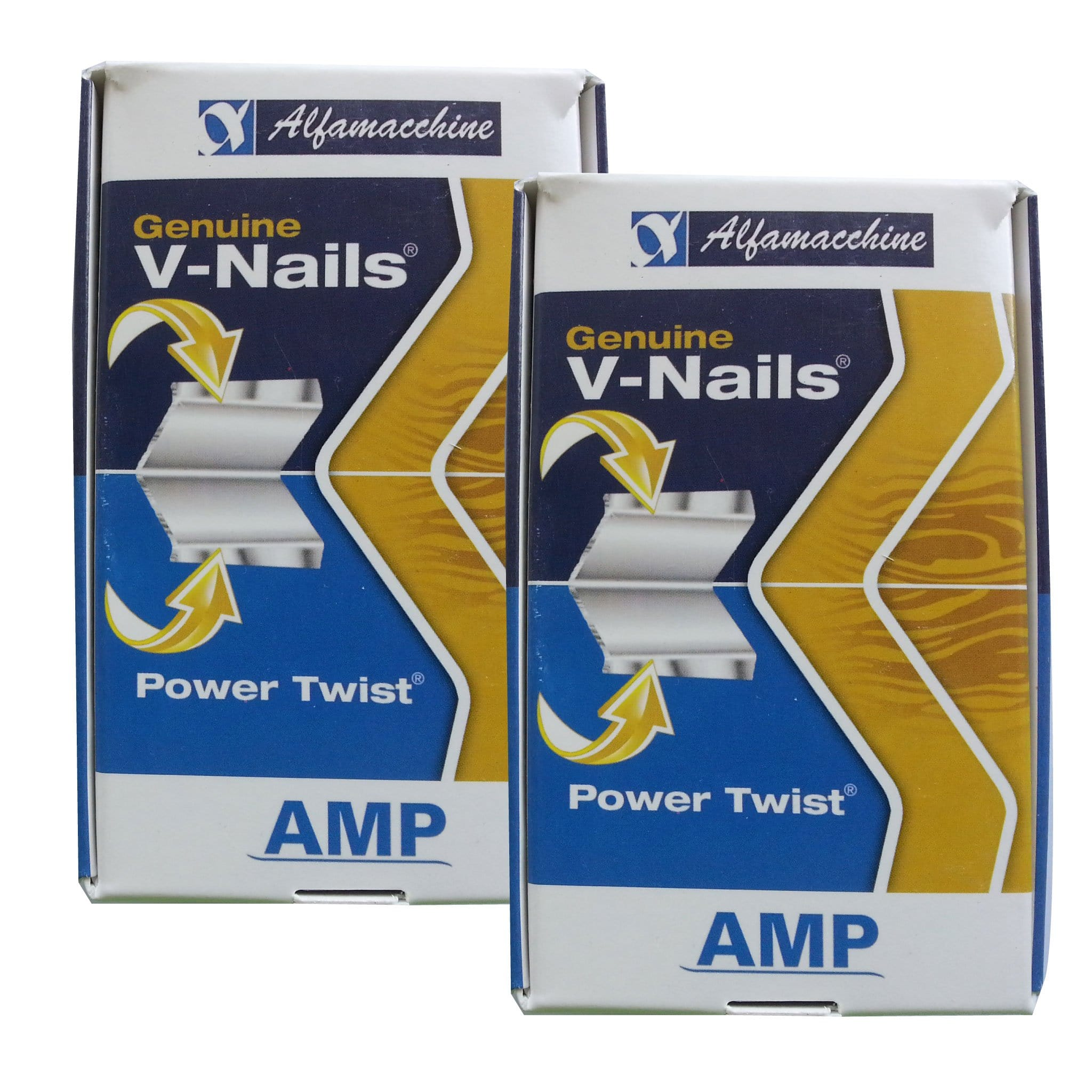 "1007SPT - 1/4"" (7mm) Soft Power Twist (SPT) V-Nails - Box of 4000"