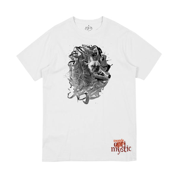 SNUGGLE TOOTH BRUCE WHITE TEE