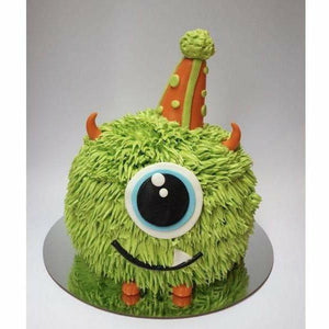 Cute Cuddle Monster cake - Littlecupcakes