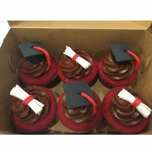 Graduation Day Cupcakes - Littlecupcakes