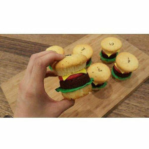 Cheese Burger Cupcakes - Littlecupcakes
