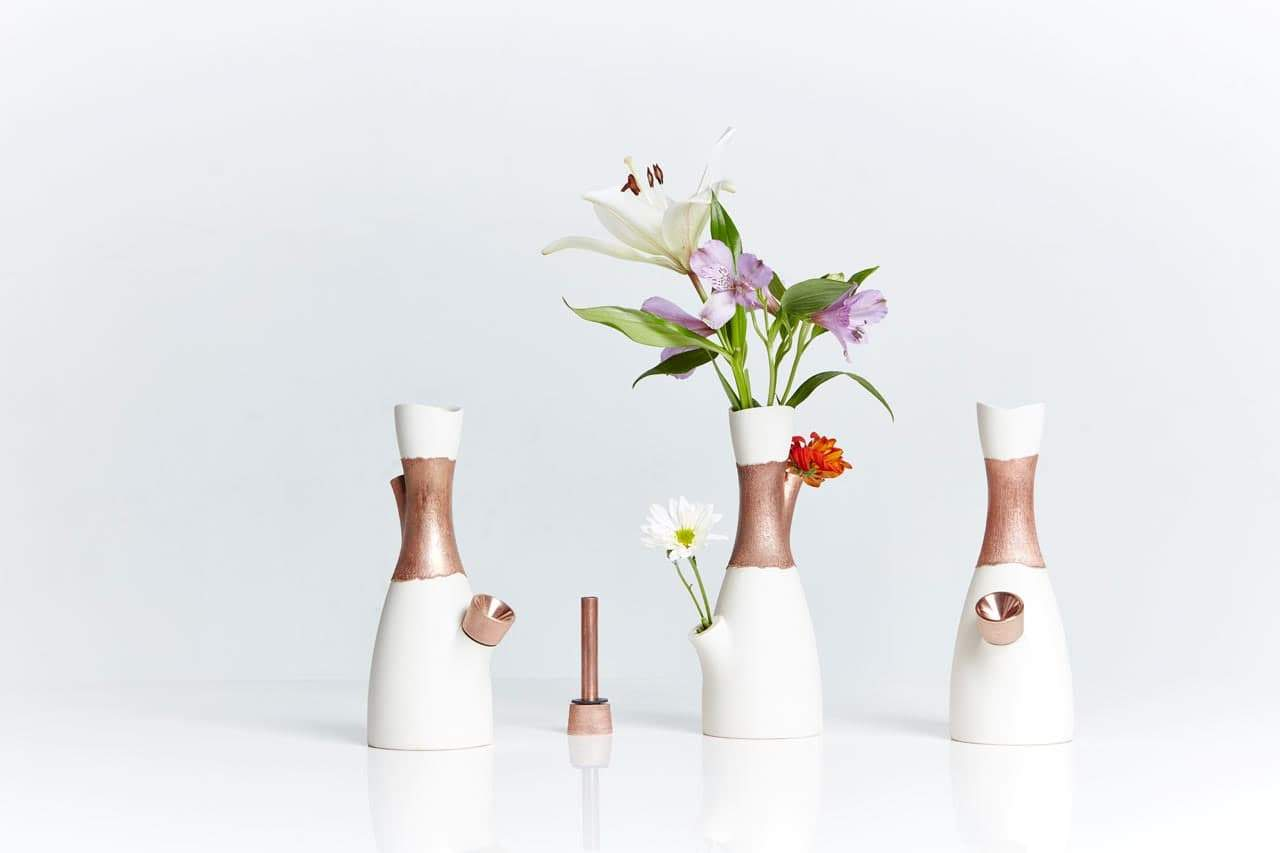 Fresh your room with white vase