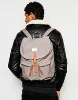Gamouflage print backpack