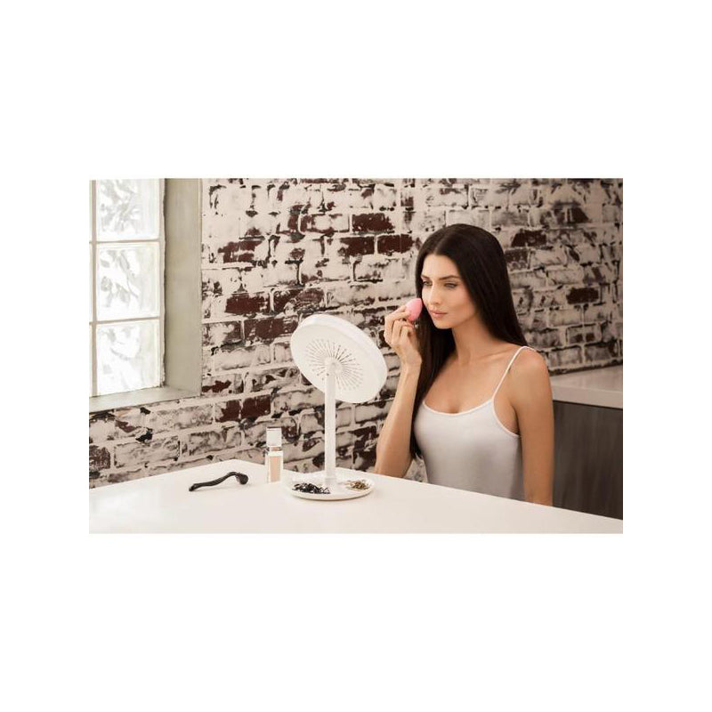 Beauty Breeze Lighted Magnification Makeup/Shaving Mirror