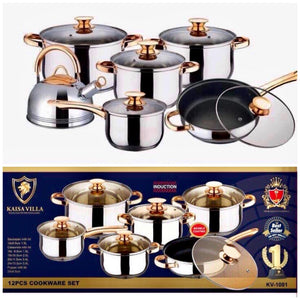 KV Cookware 12 in 1 Set (Authentic)