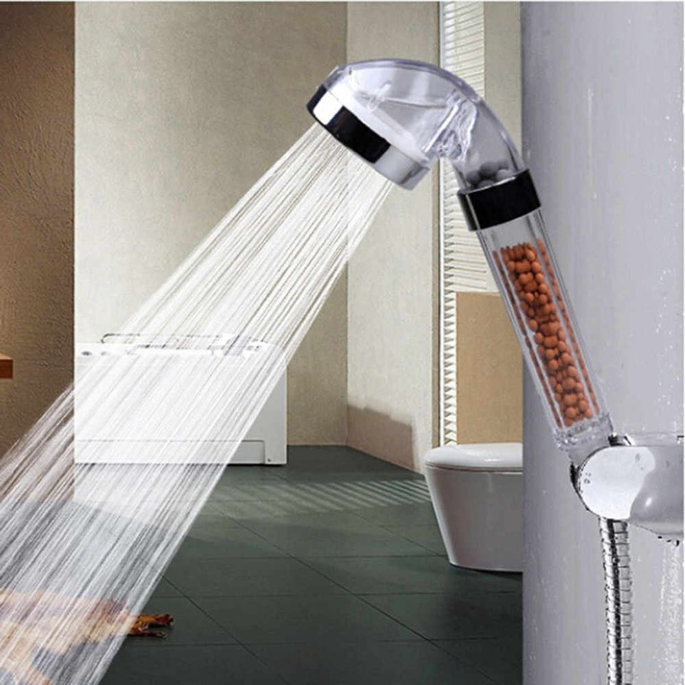 MINERAL BALLS INFUSED SHOWER HEAD