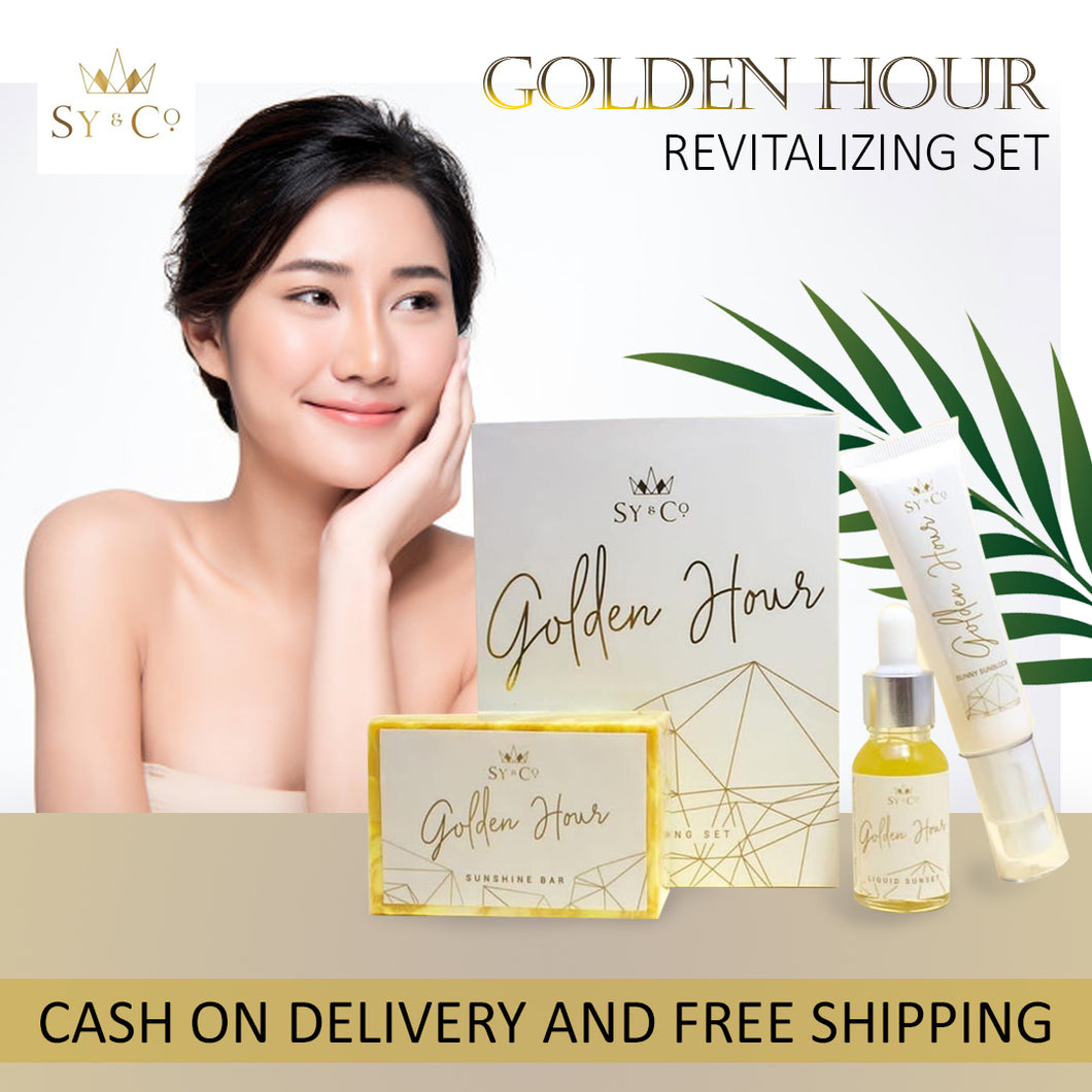 NEW || Golden Hour Revitalizing Set by Sy and Co