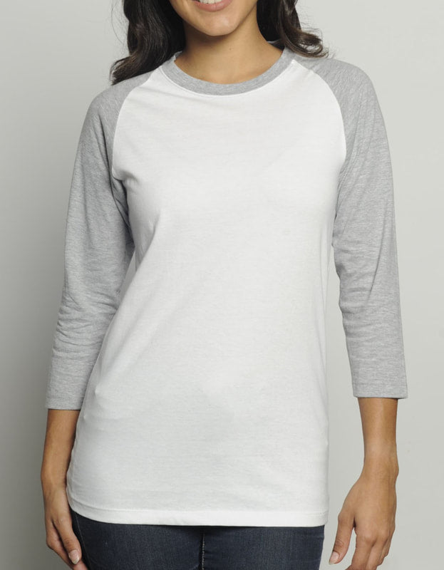 Women's Organic Cotton 3/4 Raglan T-Shirt
