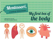 Load image into Gallery viewer, Montessori: A World of Achievements - My First Box of Human Body (Box Set)
