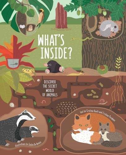 What's Inside?: Discover the Secret World of Animals (Hardback)